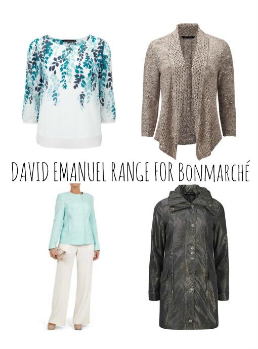 david emanuel clothing range