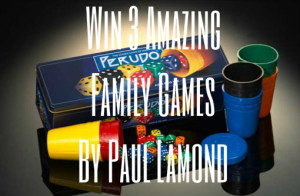 Win: 3 Family Games By Paul Lamond