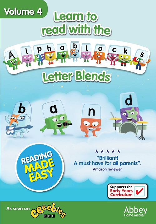 Win 1 of 5 Copies of 'Alphablocks volume 4' on DVD