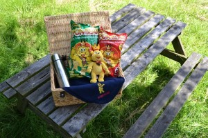 WIN A FAMILY SIZED PICNIC HAMPER WITH POM-BEAR