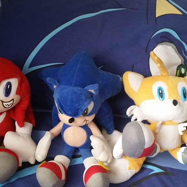 Sonic the hedgehog and friends #sonic #sonicthehedgehog #gaming #wiiu #kidsbedroom