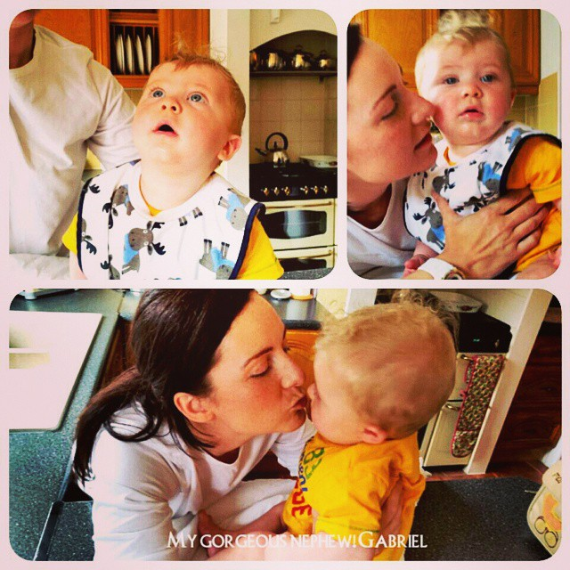 Oh I got to spend some time with my gorgeous nephew Gabriel today. Love him to pieces! #love #parenting