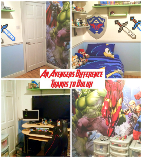 Avengers Dulux Bedroom in a box - The Difference2