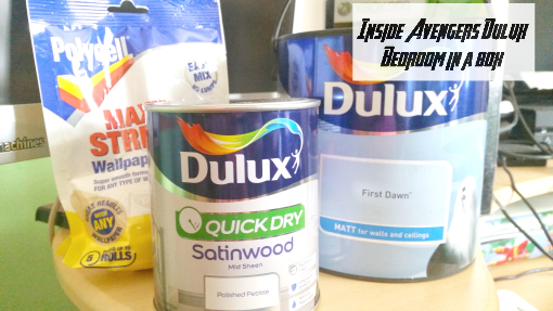 Avengers Dulux Bedroom in a box - contents