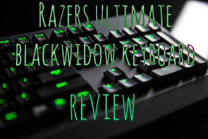 Razers ultimate blackwidow keyboard