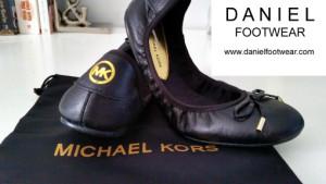 Daniel Footwear: Michael Kors City Ballet Womens Flat Pumps