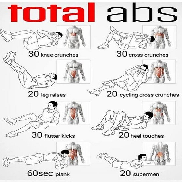 New ab plan! Going to be kick starting this week to get myself feeling a little better, although it looks a little harder than I expected ha! It certainly hits your abs from all angles #fitness #gym #abs #instagood