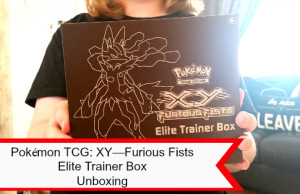 Pokémon TCG: X Y— Unboxing Furious Fists Elite Trainer Box