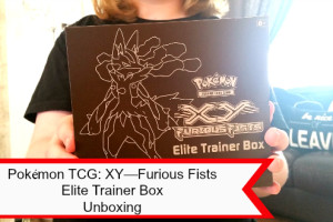 Pokémon TCG XY—Furious Fists  Elite Trainer Box Unboxing