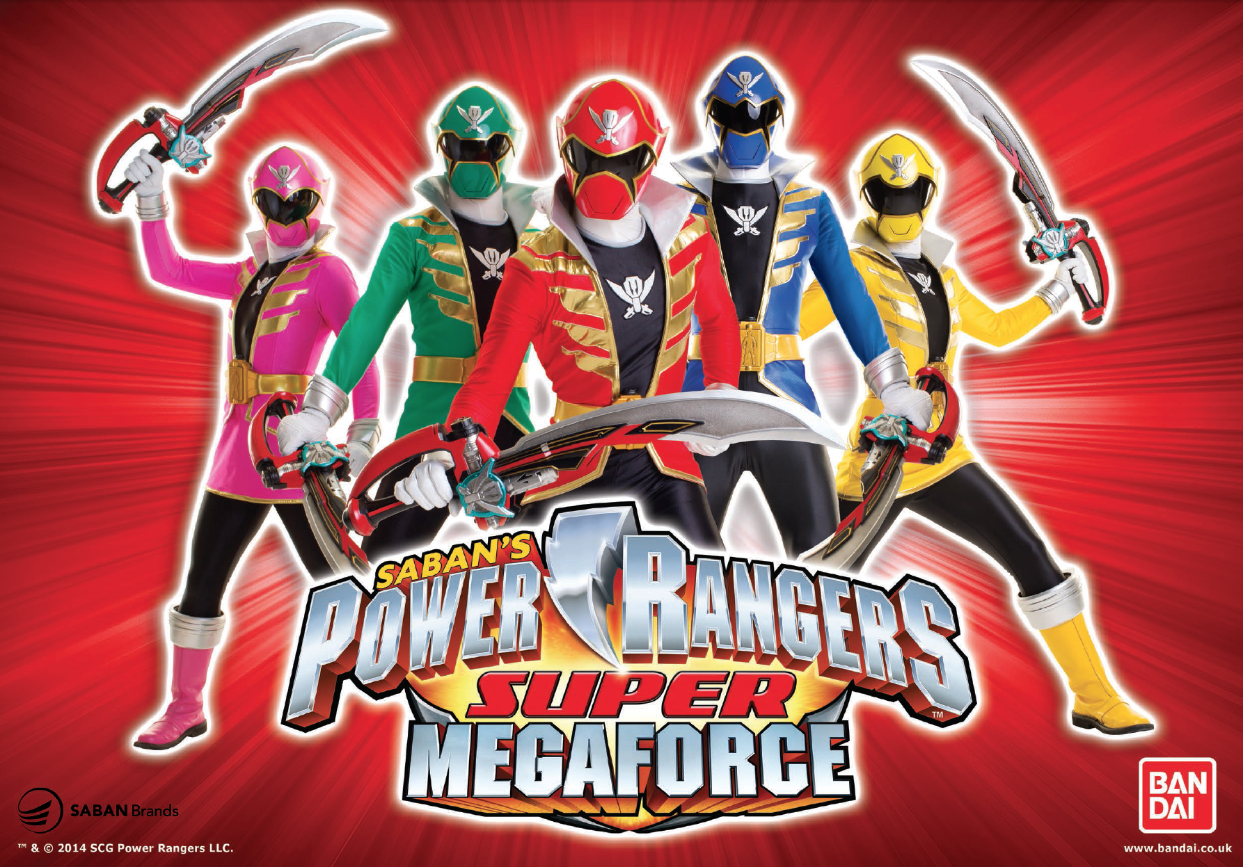 Super Megaforce Power Rangers