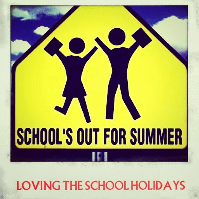 It's awesome to have the kids at home for the school holidays. #school #instagood #photooftheday #lifestyle