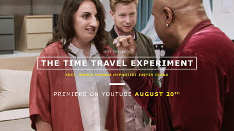 IKEA LAUNCHES HYPNOTIZING TIME TRAVEL EXPERIMENT