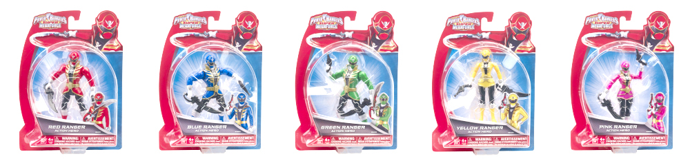 power ranger super megaforce figures