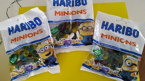 Haribo Minions-Umeandthekids