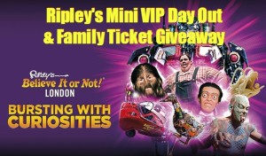 Ripley's Mini VIP Day Out & Family Ticket #Giveaway