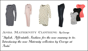 Asda maternity clothing by george