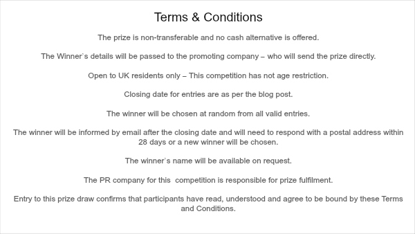 competition terms & conditions