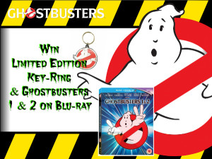 Win:- Ghostbusters I & 2 Blu-Ray & Limited Edition keyring