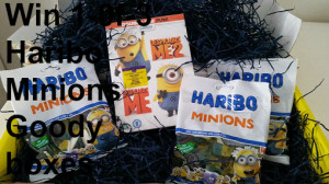 Win 1 of 3 Haribo Minions Giftsets