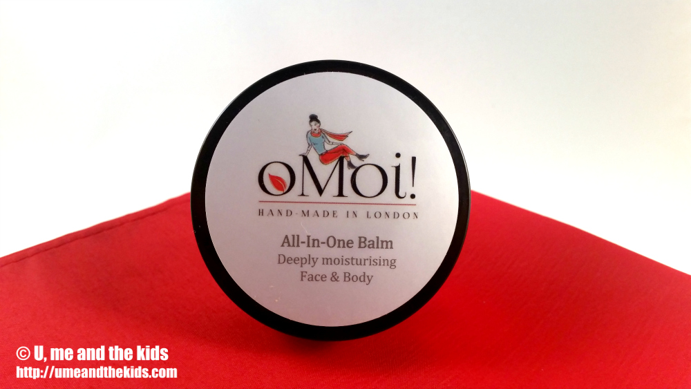 oMoi All in one Balm Natural beauty product