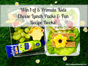 Giveaway|1 of 5 Primula Kids Cheese Lunch packs & Recipe Books