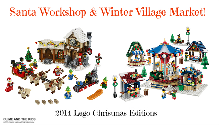 2014 Free Lego Christmas Toy  Workshop  - new additions