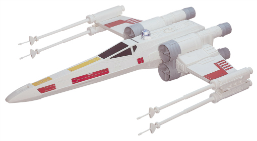 Asda Toy Sale Star Wars Starfighter Out of pack