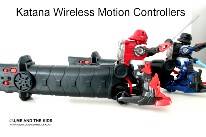 Battroborg Warriors - Katana Wireless Motion Controllers