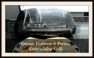 6 Person George Foreman grill (Healthier cooking made easy)