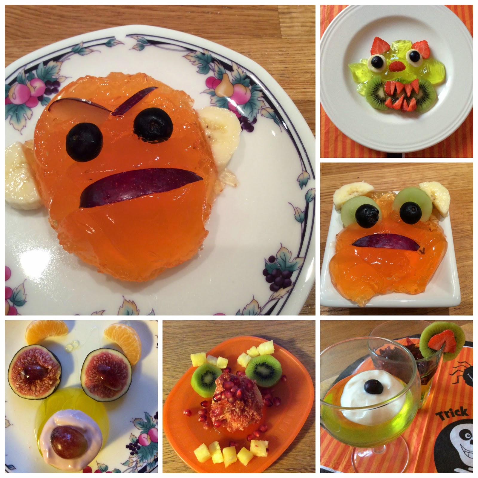 Jelly Mould Halloween Recipes
