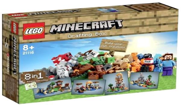 Minecraft Lego Sets - Crafting Box