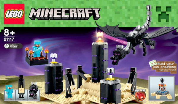 Minecraft Lego Sets - Ender Dragon