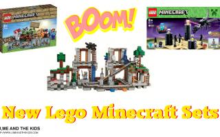 Minecraft lego sets - 2014