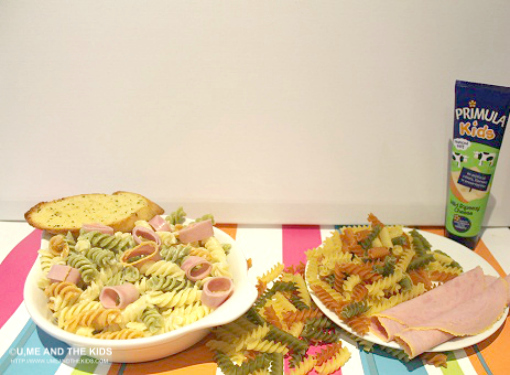 Primula Kids Cheese - pasta, ham dish
