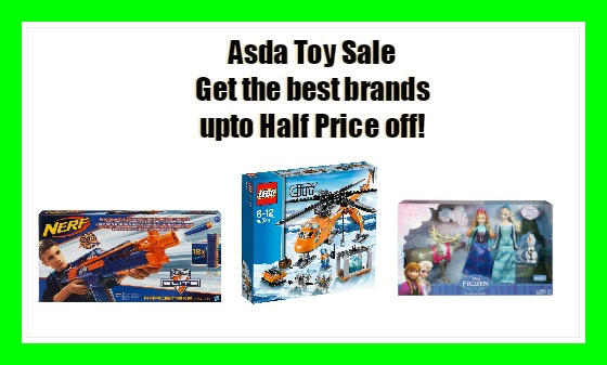 Exclusive Asda Toy sale. Hot off the press! Asda each year save families so much money with their low prices yet high quality products. It's great to know the Asda Toy Sale has started.