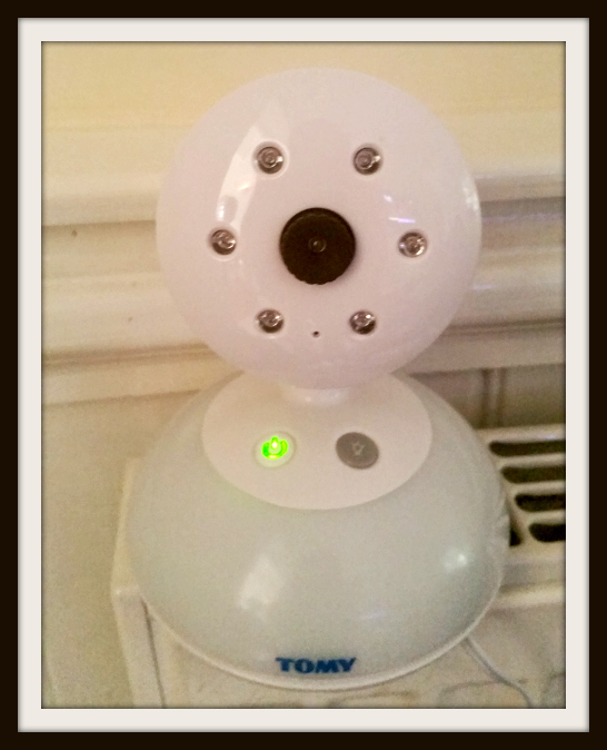 baby monitor by tomy camera