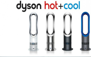dyson hot + cool fan review makes and models