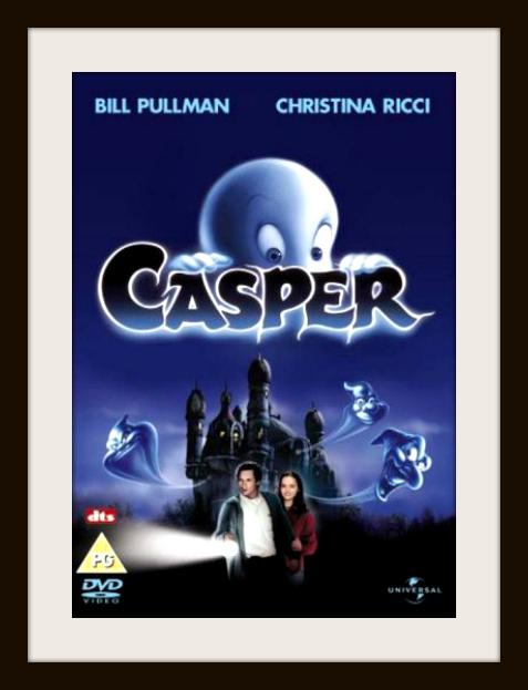 family halloween movies - casper dvd