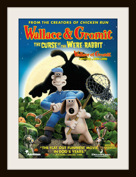 family halloween movies - wallace & gromit the curse of the were-rabbit