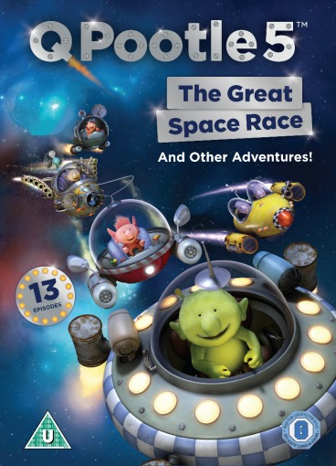 q pootle 5 the great space race dvd