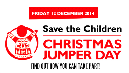 Save the Children Christmas Jumper Day 2014