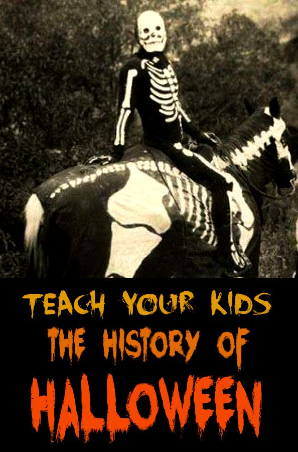 teach your kids the history of halloween