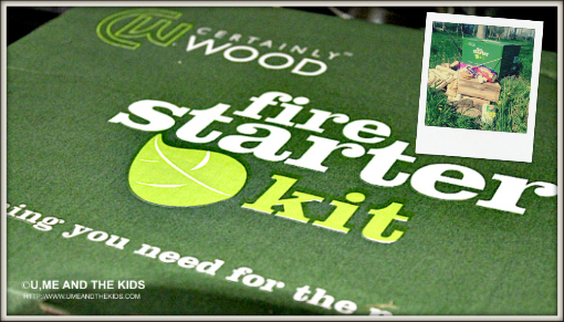 How to make S'mores - certainly wood fire starter kit
