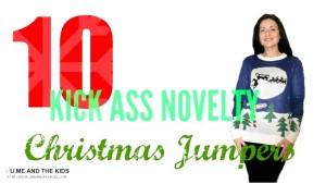 Top 10 kick Ass Novelty Christmas Jumpers!