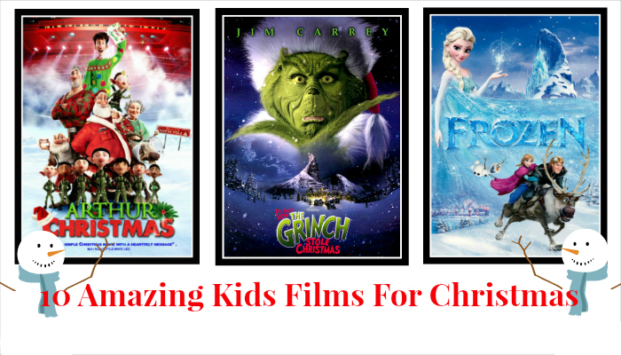 Top 10 festive Kids films for Christmas