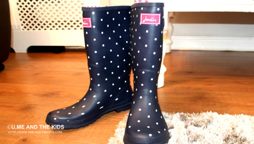 Wellington Boots By Designer Joules out of box