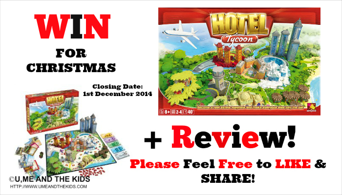 Board Game Hotel Hotel Tycoon Family Board Game