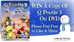 Q POOTLE 5 – POOTLE ALL THE WAY! DVD GIVEAWAY