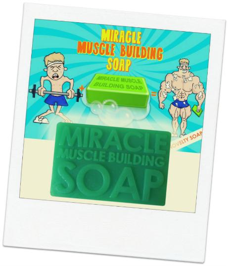 secret santa ideas miracle muscle soap