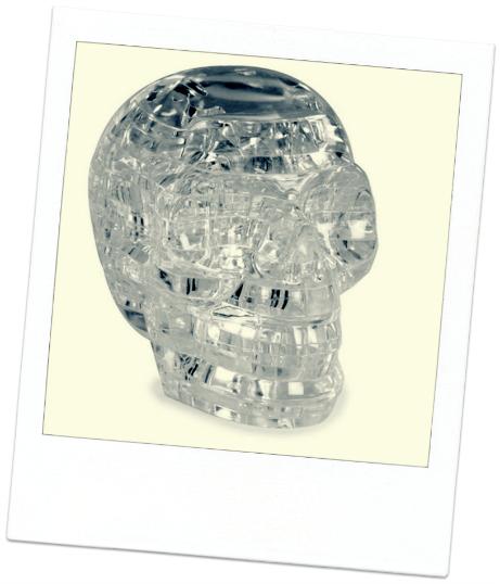 secret santa ideas skull 3d jigsaw